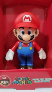 Boneco Mario -grande Super Mario Collection Figure 25 Cm
