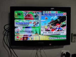 Sistema Emuelec SD Card Classe 10 64GB com 13156 jogos