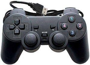 Controle Joystick USB Analógico Dualshock