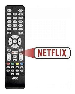 Controle remoto Tv AOC Netiflix L32W831