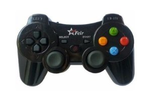 Controle Joystick Sem Fio Wireless Pc/ Ps1/ Ps2/ Ps3 E Raspberry