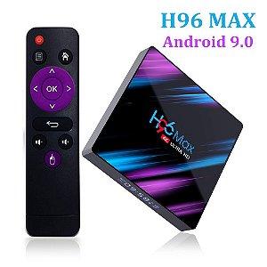 CONVERSOR SMART H96 MAX RK 3318 3GB 32GB DUAL BAND 5G BT 4.0