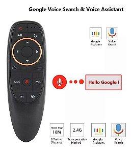 Air Mouse Comando De Voz Para TV ANDROID JVC - CONFIGURADO BOTÃO POWER
