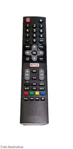 CONTROLE REMOTO TV SMART PHILCO C/NETFLIX 9004
