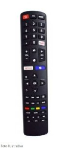 CONTROLE REMOTO TV SMART PHILCO NETFLIX E YOUTUBE 9027