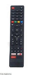 CONTROLE REMOTO TV SMART PHILCO NETFLIX/YOUT/GLOBOP 9028