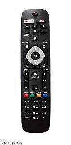 CONTROLE REMOTO TV SMART PHILIPS C/NETFLIX 8075