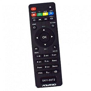 CONTROLE REMOTO TV BOX - TV Box Aquário STV-2000