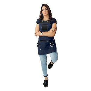 Avental em Jeans modelo King feminino