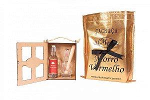 Mini Kit Madeira Caipirinha Art of Brasil 10 - 275ml Prata