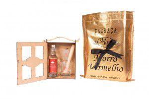 Mini Kit Madeira Caipirinha 275ml Ouro