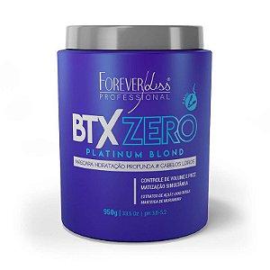 BTX Matizador Platinum Blond Zero 950g Forever Liss