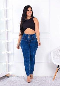Calça Jeans Cheris Skinny Dalvane Azul