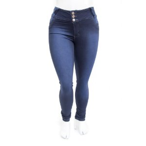 Calça Jeans Plus Size Feminina Credencial Escura