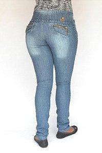 Calça Jeans Helix Feminina Azul com Elastano