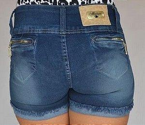 Shorts Jeans Meitrix Azul com Elastano com Bolsos