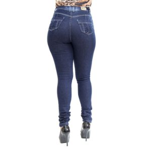 Calça Jeans Feminina Hot Pants Thomix Escura