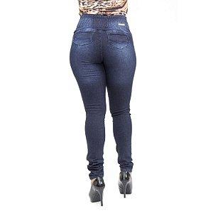 Calça Jeans Feminina Escura com Elástico Thomix