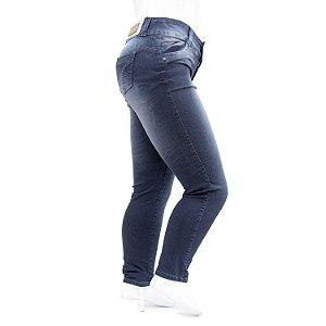 Calça Plus Size Jeans Feminina Thomix com Cintura Alta