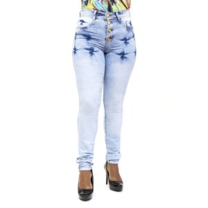Calça Jeans Feminina Clara Hot Pants Helix