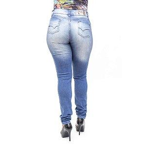 Calça Jeans Feminina Bunny Rasgadinha Hot Pants