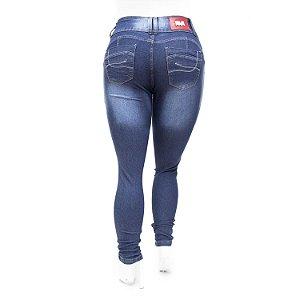 Calça Jeans Feminina Azul Plus Size Cintura Alta Thomix