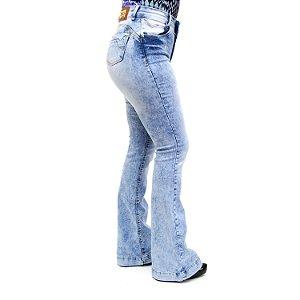 Calça Jeans Feminina Flare Hot Patns Thomix
