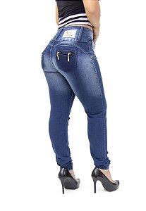 Calça Jeans Cheris Skinny Devani Azul