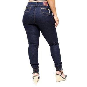 Calça Jeans Credencial Skinny Raphaely Azul