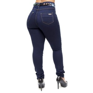 Calça Jeans Ri19 Skinny Elane Azul