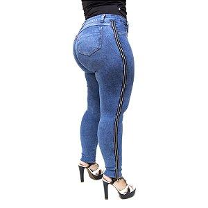 Calça Jeans Cambos Plus Size Skinny Islam Azul