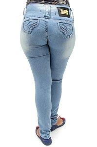 Calça Jeans Feminina Legging Helix Clara Levanta Bumbum