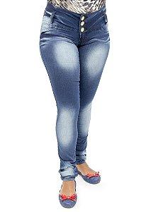 Calça Jeans Feminina Legging Hevox Levanta Bumbum