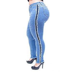 Calça Jeans Cambos Plus Size Skinny Marleine Azul