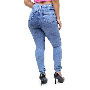 Calça Jeans Feminina Cambos Skinny Suene Azul