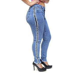 Calça Jeans Feminina Cambos Skinny Heloana Azul