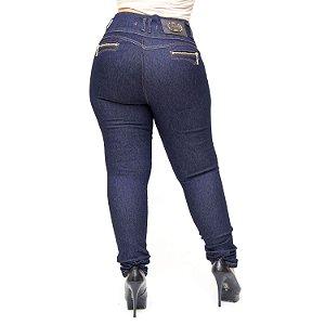 Calça Jeans Thomix Plus Size Skinny Hagata Azul