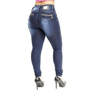 Calça Jeans Feminina Helix Skinny Valdemira Azul