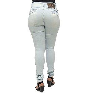 Calça Jeans Legging Bel Belita Clara Levanta Bumbum