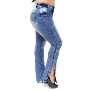 Calça Jeans Feminina Thomix Skinny Neri Azul
