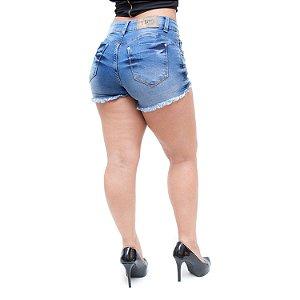 Shorts Jeans Feminino Têjota Najma Azul