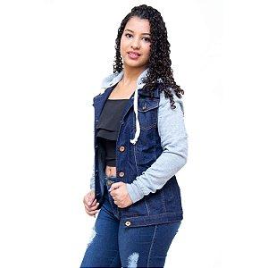Jaqueta Jeans Feminina Credencial Jenipher Azul