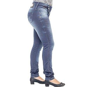 Calça Jeans Deerf Escura com Elastano