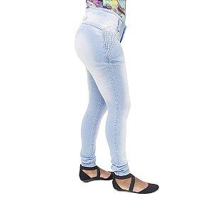 Calça Jeans Feminina Legging Deerf Clara com Elastano