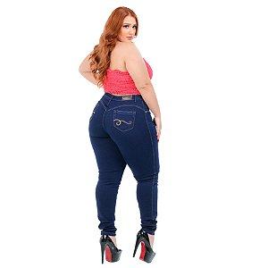 Calça Jeans Credencial Plus Size Skinny Mellody Azul