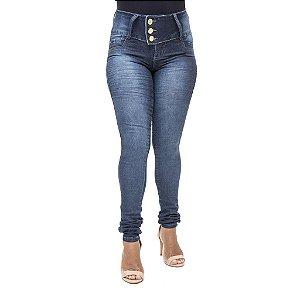 Calça Jeans Feminina Legging Credencial Escura