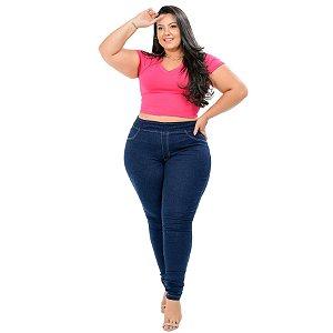 Calça Jeans Cambos Plus Size Skinny Helory Azul