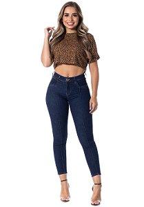 Calça Jeans Ri19 Premium Skinny Isnaria Azul