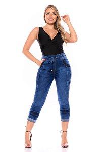 Calça Jeans Cheris Jogger Lucemar Azul