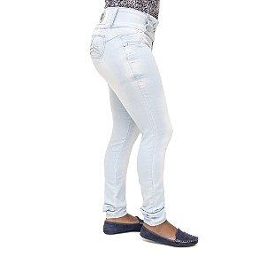 Calça Jeans Feminina Legging Deerf Clara Levanta Bumbum